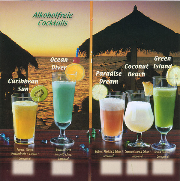 ParadiseCocktail alkoholfrei